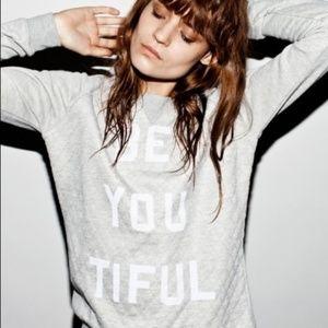 Quilted Zoe Karssen Sweater